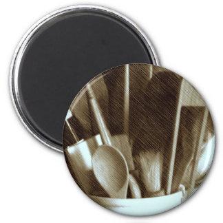 Küchen-Geräte Runder Magnet 5,7 Cm