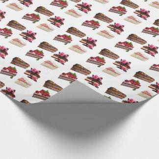 Kuchen Geschenkpapier