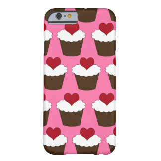Kuchen-Herzmuster Kawaii Herzens niedliches girly Barely There iPhone 6 Hülle