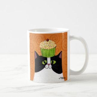 Kuchen-Katzen-Tasse Kaffeetasse