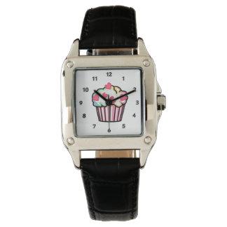 Kuchen-Liebe Armbanduhr