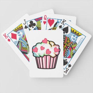 Kuchen-Liebe Bicycle Spielkarten