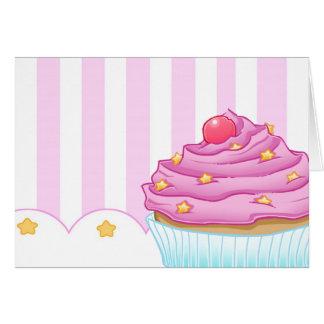 Kuchen-Liebhaber Grußkarte