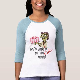 Kuchen (Mädchen) Tshirts