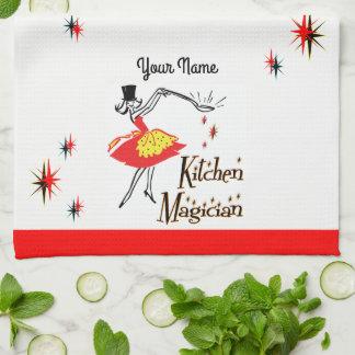 Küchen-Magier-kundenspezifisches Retro kochendes Handtuch