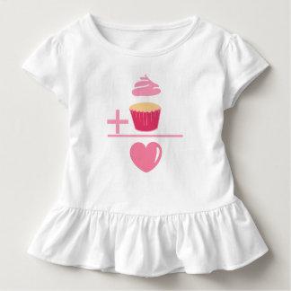Kuchen-Mathe Kleinkind T-shirt