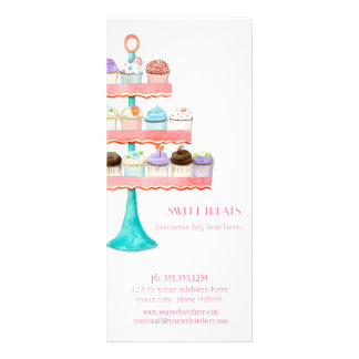 Kuchen-Nachtisch-Backen-Bäckerei-Geschäfts-Paket Individuelle Werbekarte