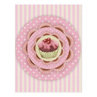 Kuchen-Postkarte