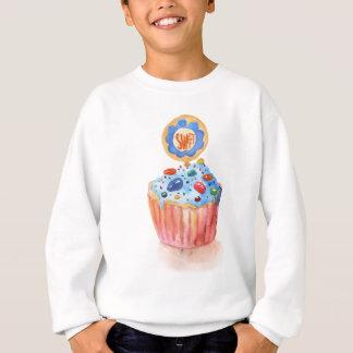 Kuchen-Sammlungs-Blau Sweatshirt