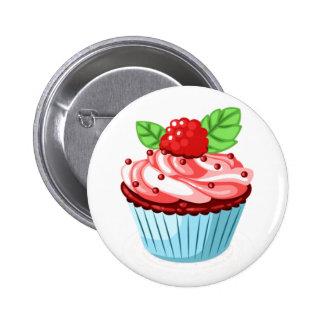 Kuchen-Spaß Runder Button 5,7 Cm