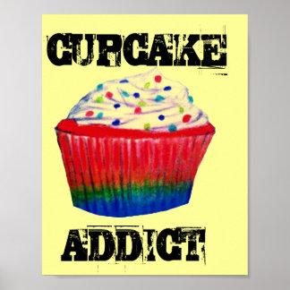 Kuchen-Süchtiger Poster