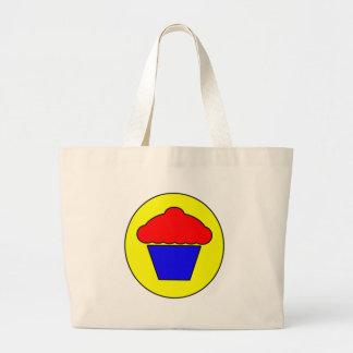 Kuchen-Symbol-Ikonen-Schalen-Kuchen-Nachtisch Leinentaschen