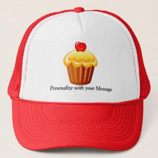 Kuchen-Tag am 15. Dezember Truckerkappe