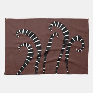 Küchen-Tuch - Lemur-Schwanz-Schokolade Geschirrtuch