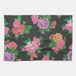 Küchen-Tuch muster der eleganten Blume Blumen Handtuch