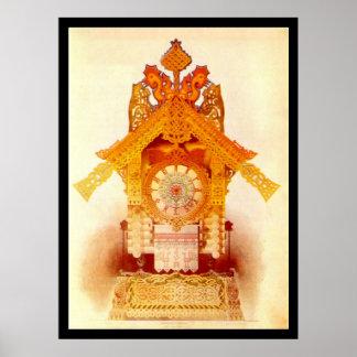 Kuchen Yagas Hütte - Plakat