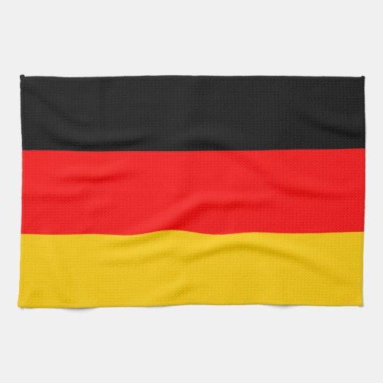 Küchenhandtuch Deutschland Fahne Geschirrtuch