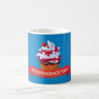Kuchenillustration der Unabhängigkeit am 4. Juli Kaffeetasse