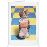 Kuchenkatzen-Geburtstagskarte Grußkarten