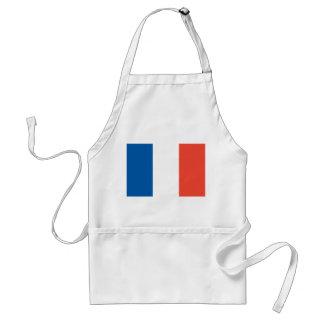 Küchenschürze mit Frankreich Fahne Schürze
