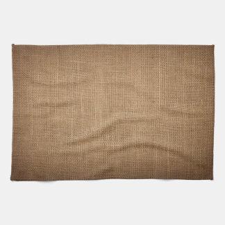 Küchentuchdruck mit rustikaler Leinwand Handtuch