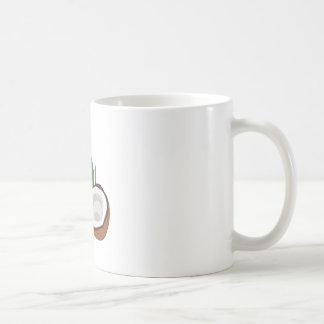 Kuckuck-Kokosnüsse Kaffeetasse