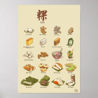 Kueh | 粿 IV (A3) Plakat