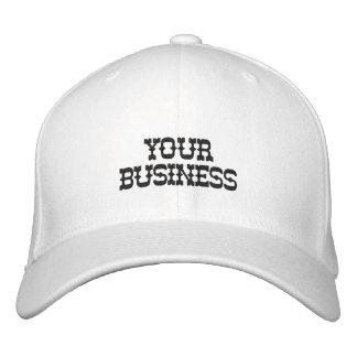 Kuering Geschäfts-Hüte Bestickte Baseballkappe