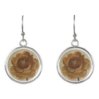 Kugel-Blume Ohrringe