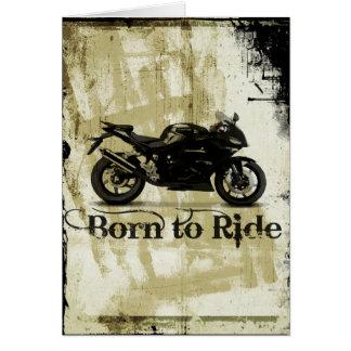 Kugel-Fahrrad-Sport-Motorrad-Geburtstags-Karte Karte
