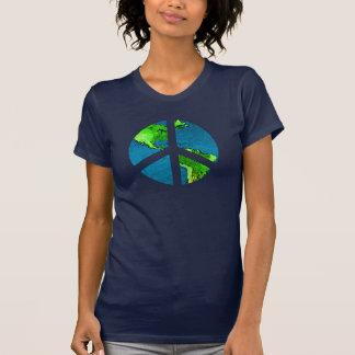 Kugel-Friedenszeichen-Shirt T-Shirt