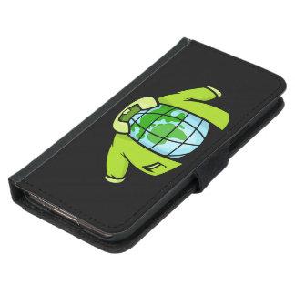Kugel-Jacke Geldbeutel Hülle Für Das Samsung Galaxy S5