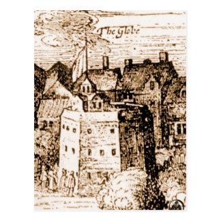 Kugel-Theater-Stich Claes Jansz Visscher Postkarte