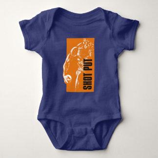 Kugelstoßen Baby Strampler