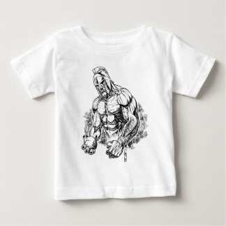 Kugelstoßengladiator Baby T-shirt