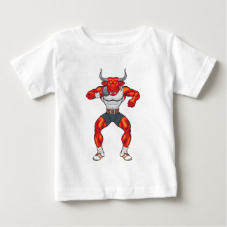 Kugelstoßenstier 2 baby t-shirt