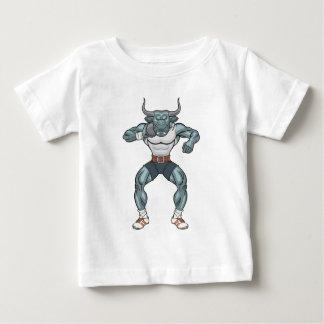 Kugelstoßenstier Baby T-shirt