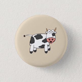 Kuh-Abzeichen Runder Button 3,2 Cm