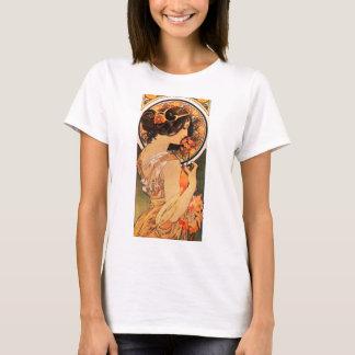 Kuh-Beleg-T - Shirt Alphonse Mucha