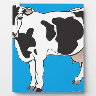 Kuh-Cartoonvektoren--b Fotoplatte