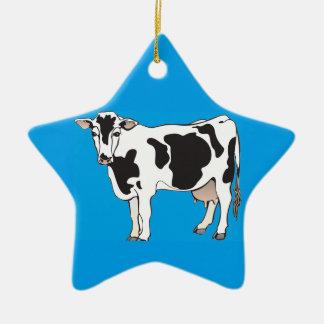 Kuh-Cartoonvektoren--b Keramik Ornament