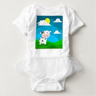 Kuh-Charakter Baby Strampler