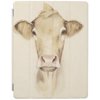 Kuh der Aquarell-Scheunen-Tier-| iPad Hülle