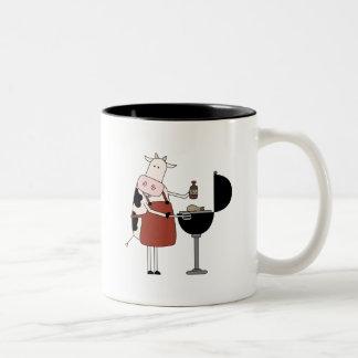 Kuh-Grill-T-Shirts und Geschenke Tee Tassen
