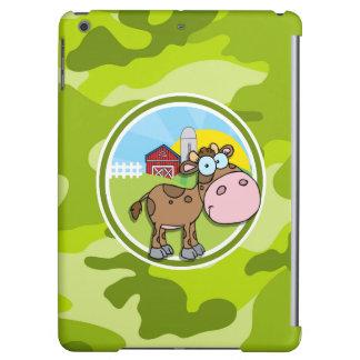 Kuh; hellgrüne Camouflage, Tarnung