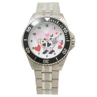 Kuh-Herzen Uhr