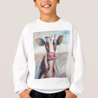 Kuh in der Weide Sweatshirt