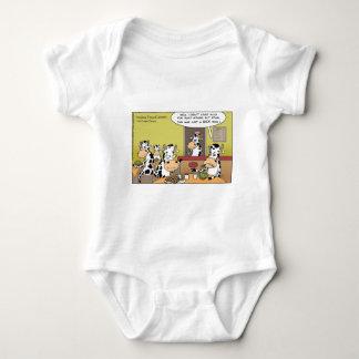 Kuh isst Ehemann-lustige Geschenk-T-Shirts-Tassen Baby Strampler