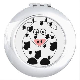 Kuh-kompakter Spiegel Taschenspiegel