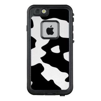 Kuh-Muster Schwarzweiss LifeProof FRÄ' iPhone 6/6s Hülle